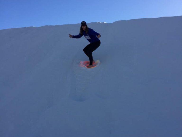 Sand boarding!