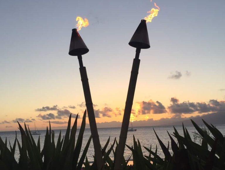 Maui sure has some beautiful sunsets.