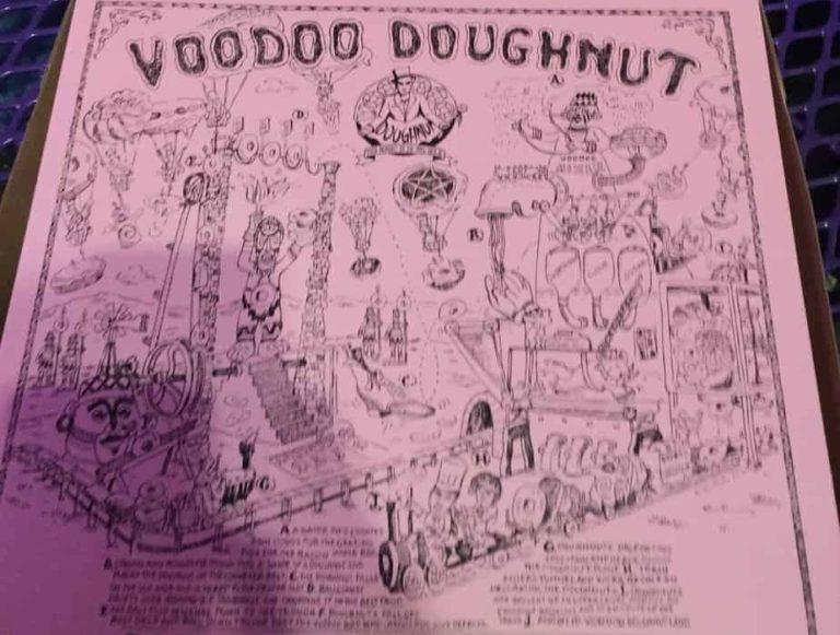 Voodoo Doughnuts - a Portland classic