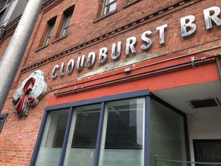 Cloudburst Brewery