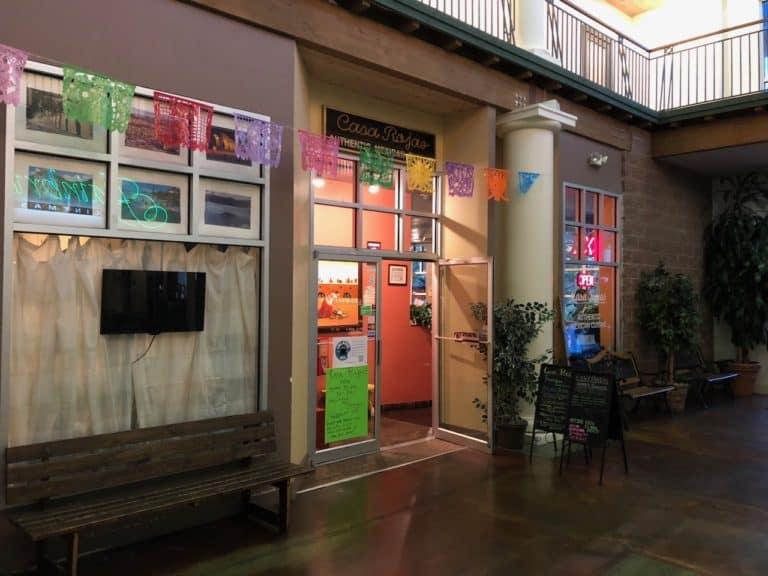 Casa Rojas in a mall in Bainbridge
