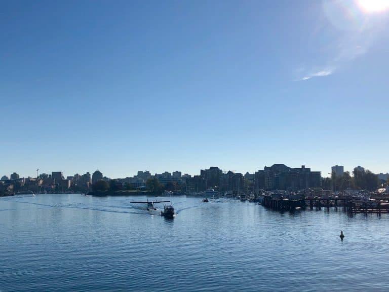 Arriving in Victoria Harbor