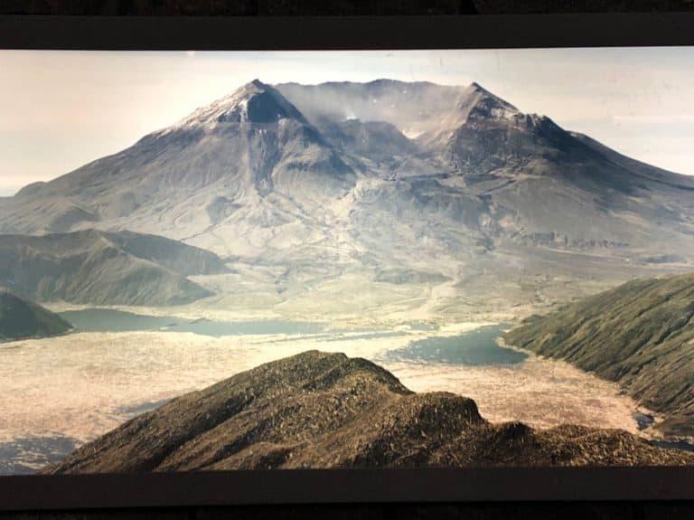 Mount St. Helens post-eruption