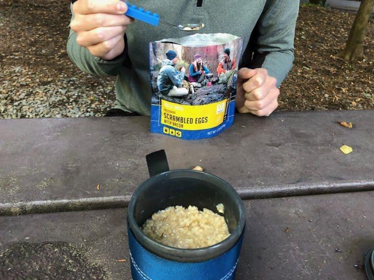 Breakfast, camp-style!