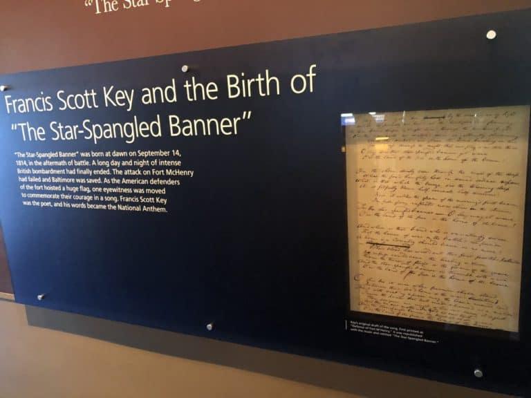 The orignial Star-Spangled Banner poem!