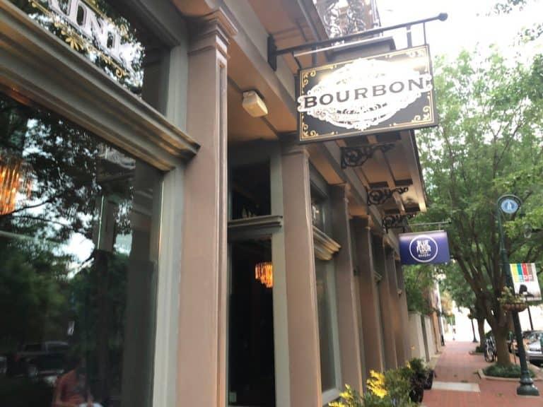 Bourbon whiskey bar and Cajun-Creole restaurant.