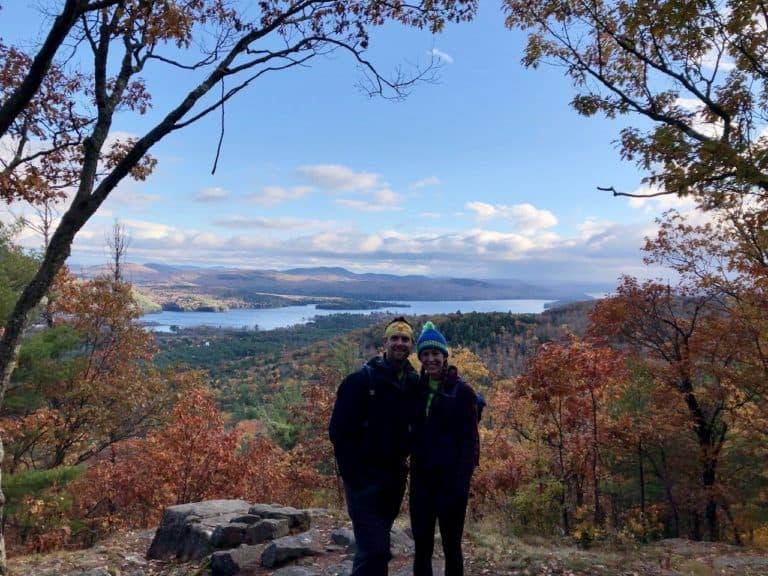 Mount Severance, overlooking Paradox Lake.