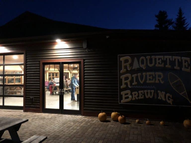 Raquette River Brewing in Tupper Lake.