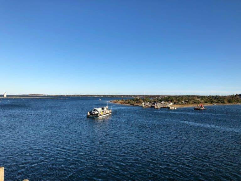 The quick ferry to Chappaquiddick Island!