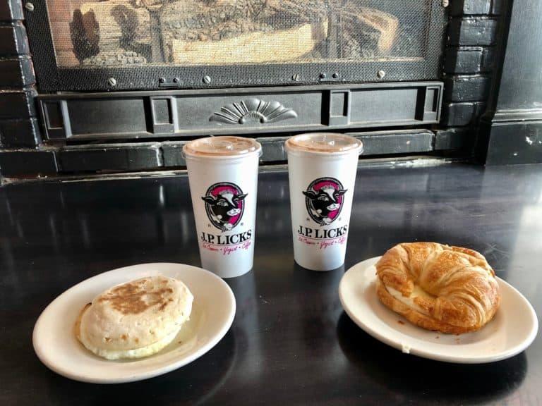 Mocha Milkshakes for breakfast!