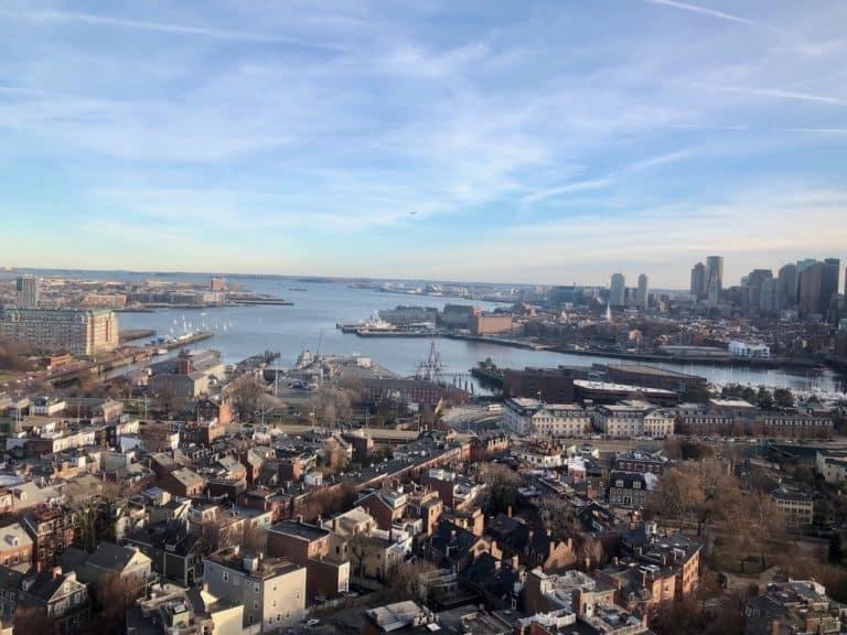 ...a stellar view of Boston!